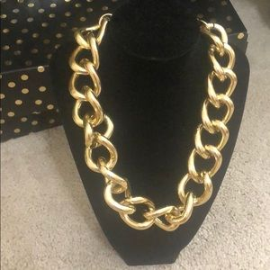 2/$15 chunky gold chain necklace
